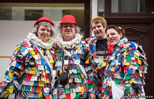 Кёльнцы сами шьют карнавальные костюмы