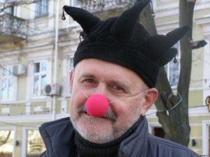 Старый клоун на Юморине